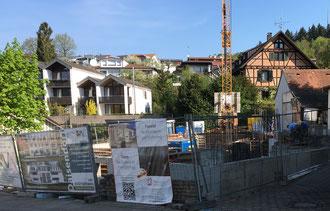 Baufortschritt vom 20.04.2018