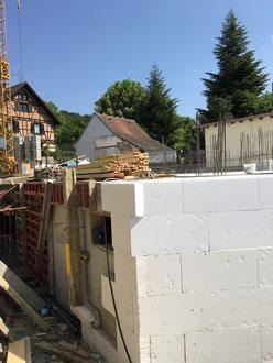Baufortschritt vom 06.05.2018