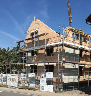 Baufortschritt vom 19.08.2018