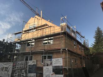 Baufortschritt vom 14.09.2018