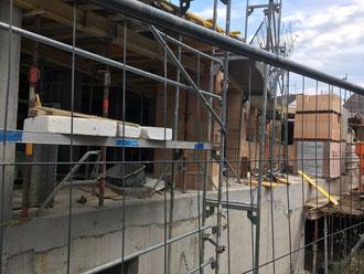 Baufortschritt vom 17.07.2018