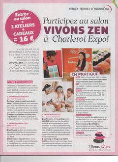 Salont Vivons Zen - Novembre 2013