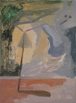 schirmchen, 40 cm x 30 cm, öl auf leinwand, 2011