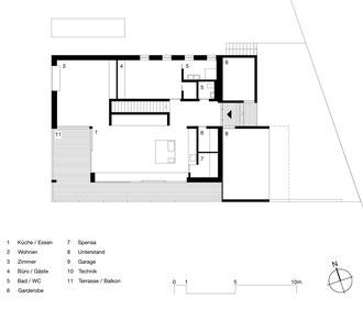 Am Hang Wittenbach: Wohngeschoss