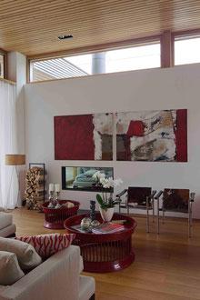 Badhaus Altenrhein: Wohnzimmer