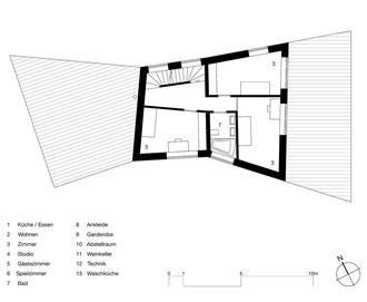 Farfalle Romanshorn: 1. Obergeschoss