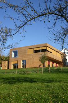 Am Hang Wittenbach: Gartenseite