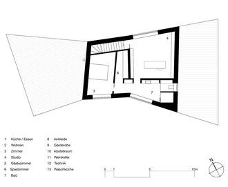 Farfalle Romanshorn: 2. Obergeschoss