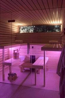 Badhaus Altenrhein: Sauna