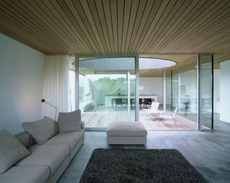 Vier Höfe, Frauenfeld: Wohnzimmer (Fotos: Francesca Giovanelli)