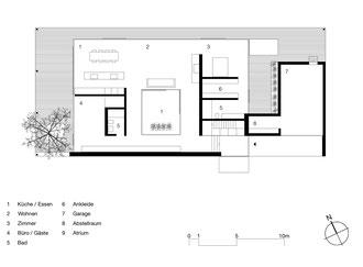 Atriumhaus am See Romanshorn: Grundriss