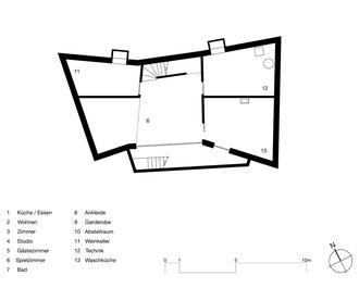 Farfalle Romanshorn: Untergeschoss