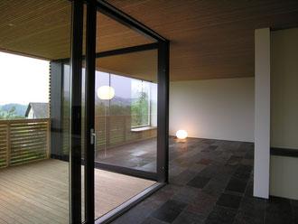 Am Hang Wittenbach: Loggia