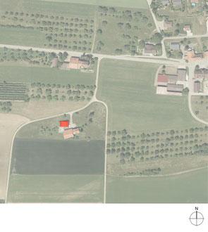 Das kleine Schwarze, Homburg: Situation (Quelle: Amt für Geoinformation Thurgau)