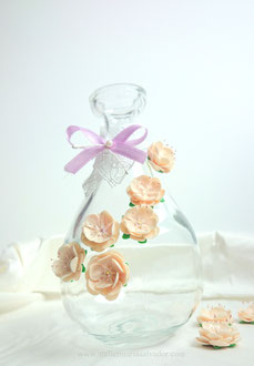 Mini fleurs en porcelaine froide pour une commande personnalisé special mariage