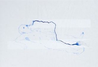 ori no.126 2011 33.5 x 48 cm Watercolors, Japanese paper