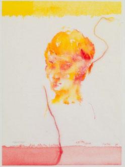 ori no.206   2012  33.1 x 24.2 cm  Watercolors, Japanese paper