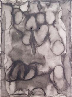 mo-re no.18  2009  48.5×66.5 cm  Watercolors, ink, paper