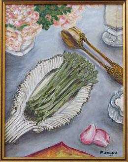 plat d'asperges