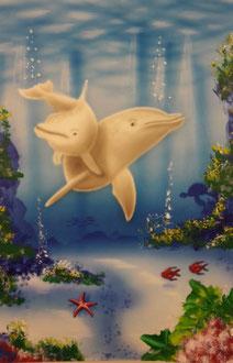 Unterwasser Wandbild
