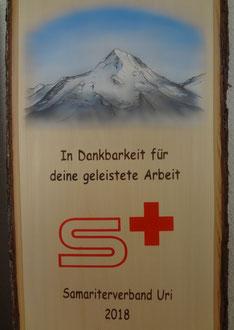 Kundenauftrag Samariter Lindentafel