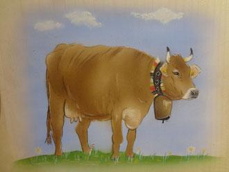 Kundenauftrag Kuh