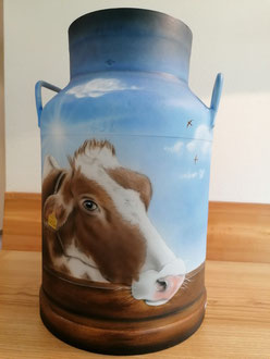 Kundenauftrag Milchkanne