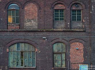 Blick auf das alte Bessemer-Stahlwerk
