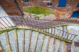 Treppen in Alni, Frankreich