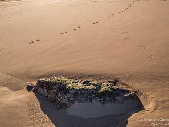 Am Strand von San Vincente de la Barquerqa