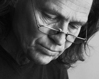 Stefan Rustige  im  Atelier