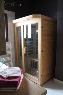 Le sauna © P.Lamour