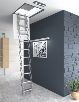 Easyalu escalier escamotable