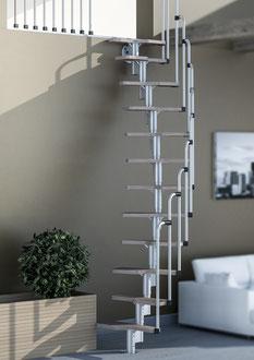 Houston escalier avec rampe et garde-corps étage