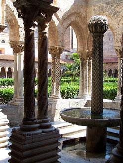 Cloître de l' Abbaye de Monréale