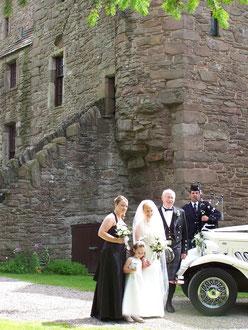 huntingtower castle Poster un article