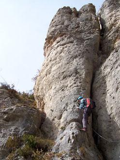 Via Ferrata de Liaucous, Aveyron