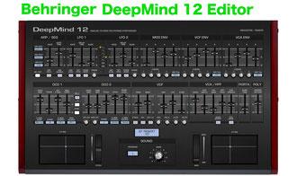 Behringer DeepMind 12 VST Editor and Controller - Behringer