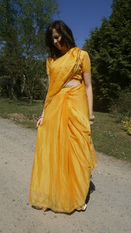 Sarouel Jaune précousu Bollywood studio