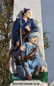 LE CROTOY - Monument nouvelle peinture