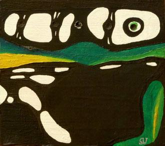 ohne Titel | 2012 | Mischtechnik | 14,7 x 16,5 cm