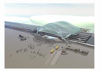 Gare des Guillemeins / Santiago Callatrava
