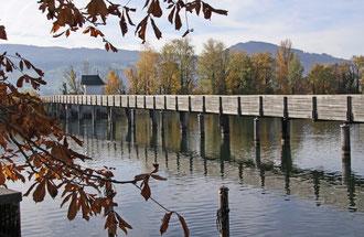 Holzsteg Hurden Rapperswil