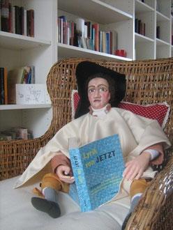 Goethe liest in der Privatbibliothek von Ulla M. in Aachen