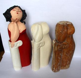 Papiermache-Figur: Vom Urmodell zur fertigen Tiefurter Muse
