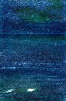 VILLERVILLE Kaltnadelradierung auf Papier - 15 x 10 cm