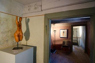 Ausstellung Form + Klang + Blüte Hühnerfautei Schönau 2013