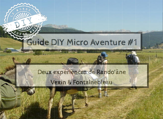 Guide-Micro aventure-IDF-randonnée âne