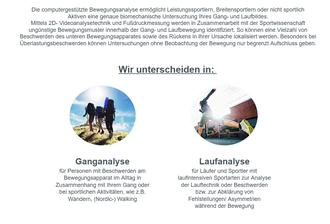 Ganganalyse und Laufanalyse bei Orthofit Magdeburg