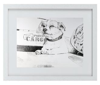 """Prima DIVA Zeichnung von """"Charly"""" einem  Terrier"""